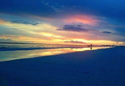 A photo of a Beautiful sunset on Fort Myers Beach.