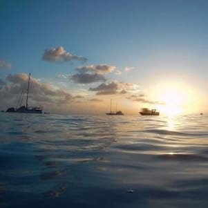 An awesome St. Barths sunset.
