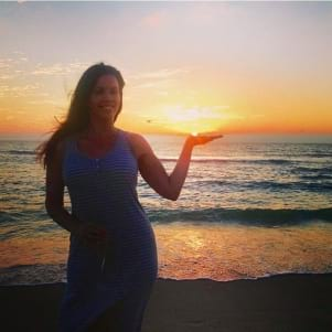 Handling another beautiful sunset on Captiva Island Florida