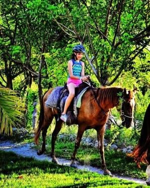 Horseback riding in Dominican Republic