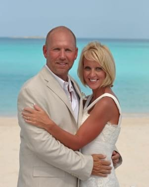 Tying the knot in the Exumas Bahamas